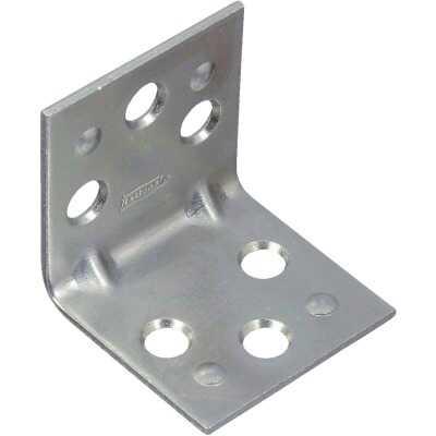 National Catalog V121 1-1/2 In. x 1-1/2 In. Double Wide Zinc Corner Brace