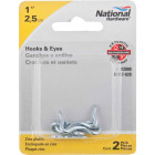 National1 In. Steel Hook & Eye Bolt (2 Ct.) Image 2