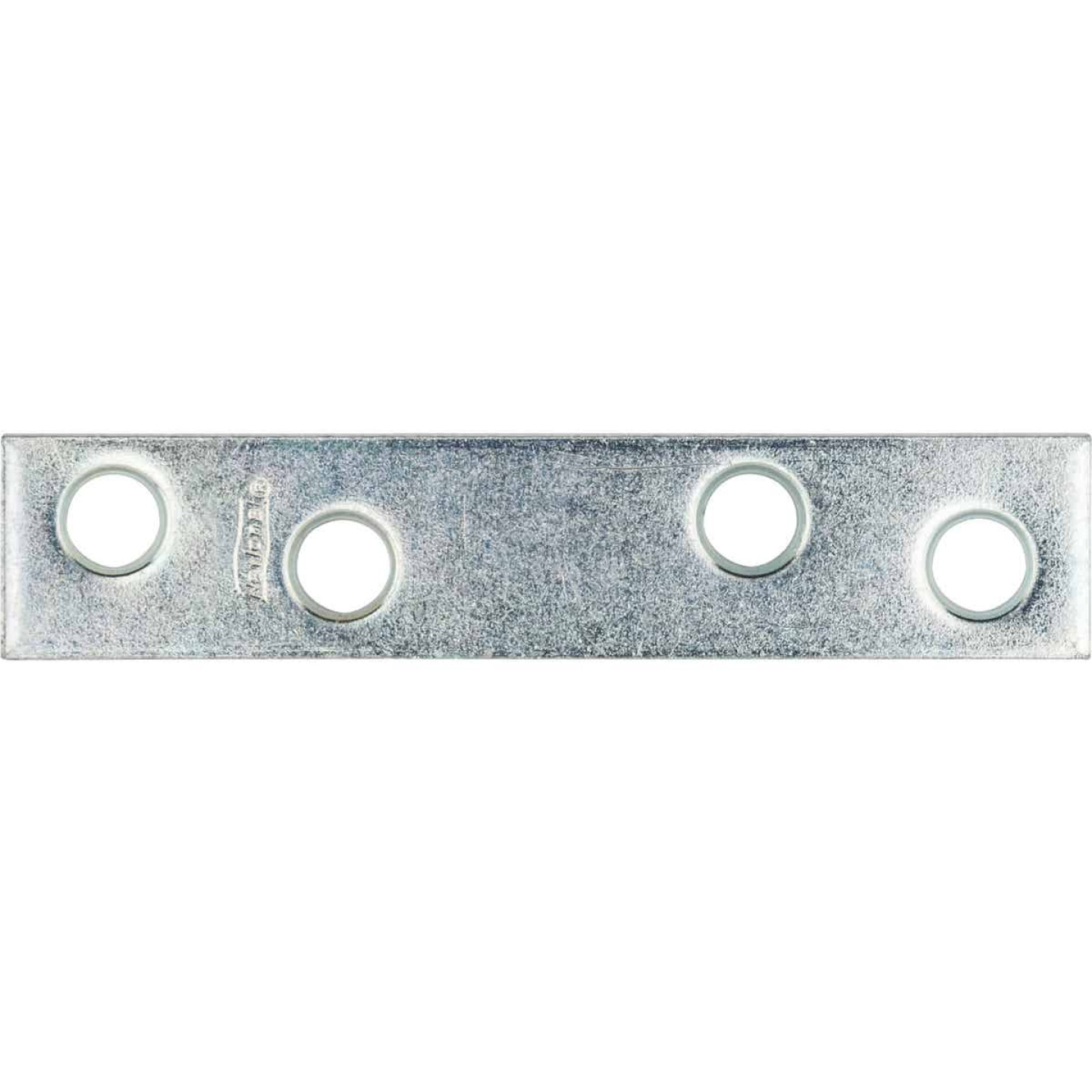 National Catalog 118 3 In. x 5/8 In. Zinc Steel Mending Brace Image 1