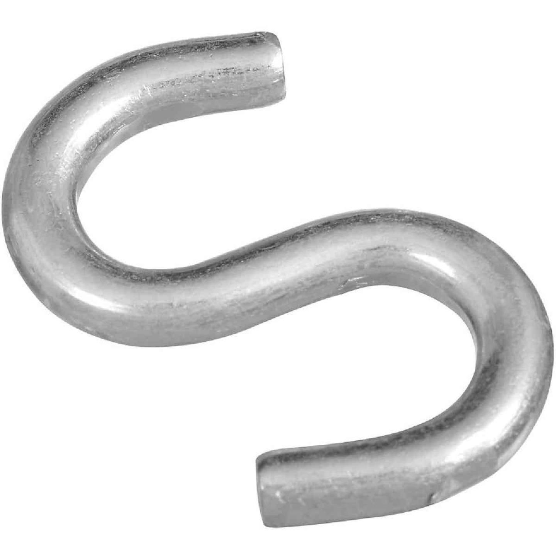 National 2 In. Zinc Heavy Open S Hook Image 1