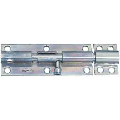 National 6 In. Zinc Heavy Barrel Bolt