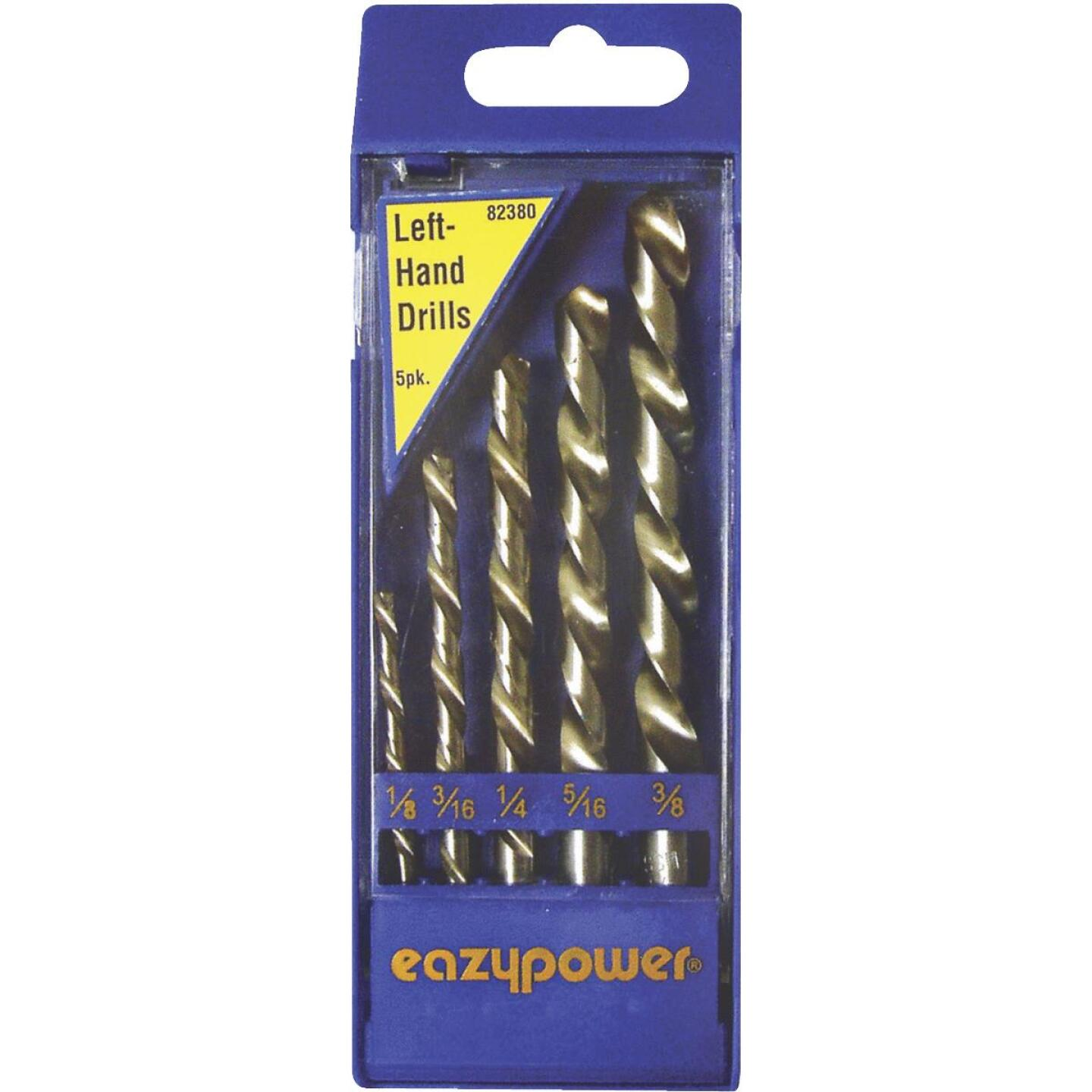 Eazypower Left Hand Drill Bit Set (5-Pieces) Image 1