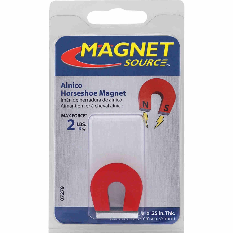 Master Magnetics 2 Lb. 1 in. Horseshoe Magnet Image 2