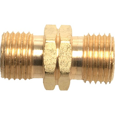 MR. HEATER 9/16 In. LHMT x 9/16 In. LHMT Brass Male Pipe Fitting