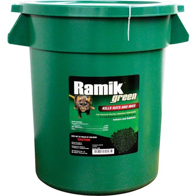 Ramik Green Pellet Rat And Mouse Poison (15-Pack)