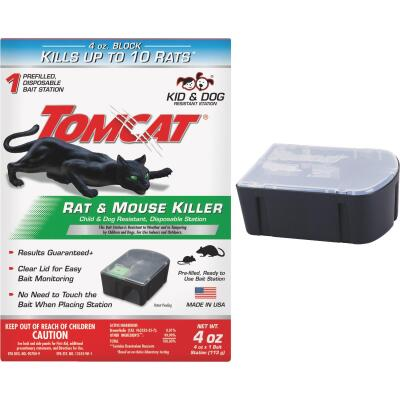 Tomcat Disposable Rat & Mouse Bait Station (1-Pack)